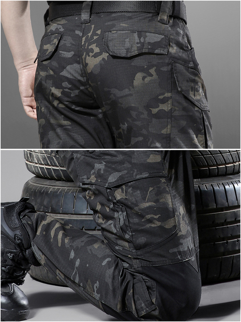Mege Quality Spring Tactical Pants Military Clothing Army Camouflage Cargo Pants Knee Reinforced Airsoft Durable Dropshipping 43
