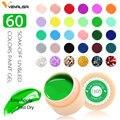 Venalisa UV Gel nuevo 2019 diseño de Consejos de uñas manicura 60 colores UV LED remojo de pintura de Gel DIY tinta UV Gel pulido de uñas laca