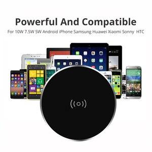 Image 2 - Sạc nhanh Không Dây Cho iPhone11 Pro Max XS XR X 8 Plus Sạc Điện Thoại Nội Thất Văn Phòng Để Bàn Gắn Nhúng Sạc miếng lót