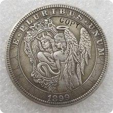 Type #30_Hobo Nickel Coin 1899-P Morgan Dollar COPY COINS-replica commemorative coins