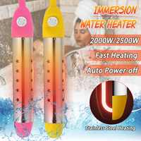 2000W / 2500W 220V Floating Electric Water Heater Boiler Water Heating Portable Immersion Suspension Bathroom Swimming Pool