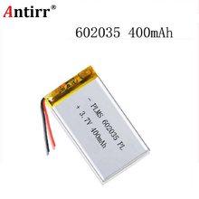 ポリマー電池 400 mah 3.7 V 602035 スマートホーム MP3 スピーカーリチウムイオンバッテリー dvr GPS mp3 mp4 携帯電話スピーカー