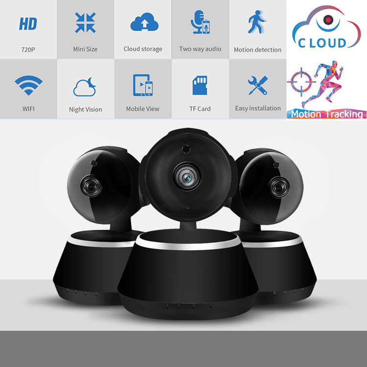 Mini Wireless Camera Indoor 720P 1080P HD Ip Kamera WiFi Video Surveillance Baby Monitor Kamera CCTV WIFI Malam visi