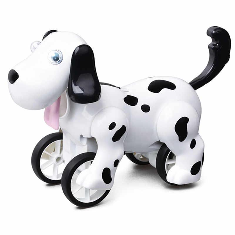 1pcs 2.4G חכם RC רובוט כלב נובח יד Stand הליכה חינוך אינטליגנטי רובוט כלב צעצוע