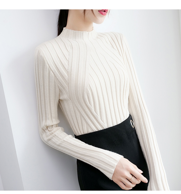 Sweaters fashion 19 women sweaters ladies winter clothes women knit solid black long sleeve tops sueter mujer Pullovers 0364 32