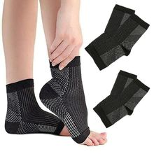 1 Pairs Plantar Fasciitis Socks Compression Foot Sleeves Ankle Brace Relief Tend
