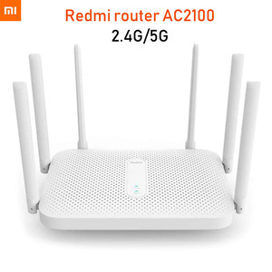Image 1 - Xiaomi Redmi AC2100 Router Gigabit 2.4G 5.0GHz Dual Band 2033Mbps Wireless Router Wifi Repeater With 6 High Gain Antennas Wider