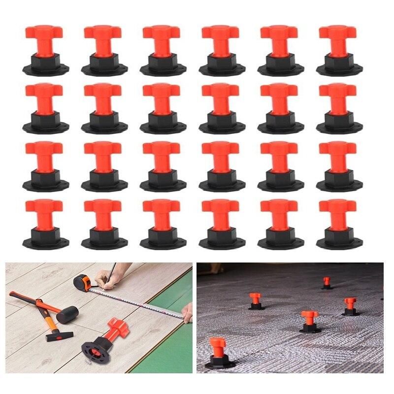 75pcs/set Level Wedges Tile Spacers For Flooring Wall Tile Carrelage Leveling System Leveler Locator Spacers Plier