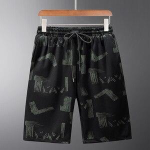 Летние мужские шорты 10XL 9XL 8XL 7xl 6xl 5xl XXXXL размера плюс, 2020 свободные пляжные шорты бермуды с принтом, повседневные шорты до колен