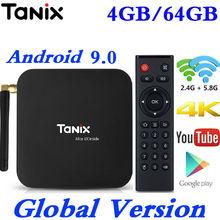 Tanix TX6 Smart Android 9.0 TV Box Allwinner H6 Quad Core 2G