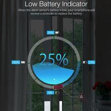 DIGOO DG-ZXD21 2.4G Wifi Smart Window& Door Sensor Wireless Smart Home Security Magnetic Window Door DetectorSafety Sensor