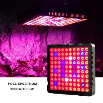 1000W 1500W Phyto Lamp LED Grow Light For Plants Full Spectrum Grow Light For Grow Tent Medical Plant Growing Lighting Flowers