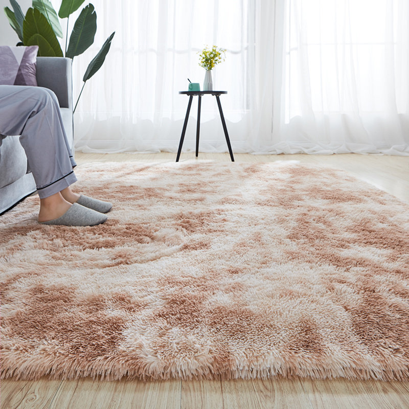 Motley Fluffy Rug Soft Plush Carpets For Living Room Home Shaggy Carpet Bedroom Sofa Coffee Table Floor Mat Kids Room Fur Rug