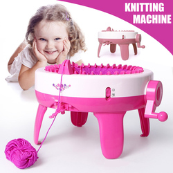 40 igieł duży rozmiar Knitting Loom diy szalik kapelusz ręcznie maszyna do tkania zabawki dla dzieci dorosłych @ LS