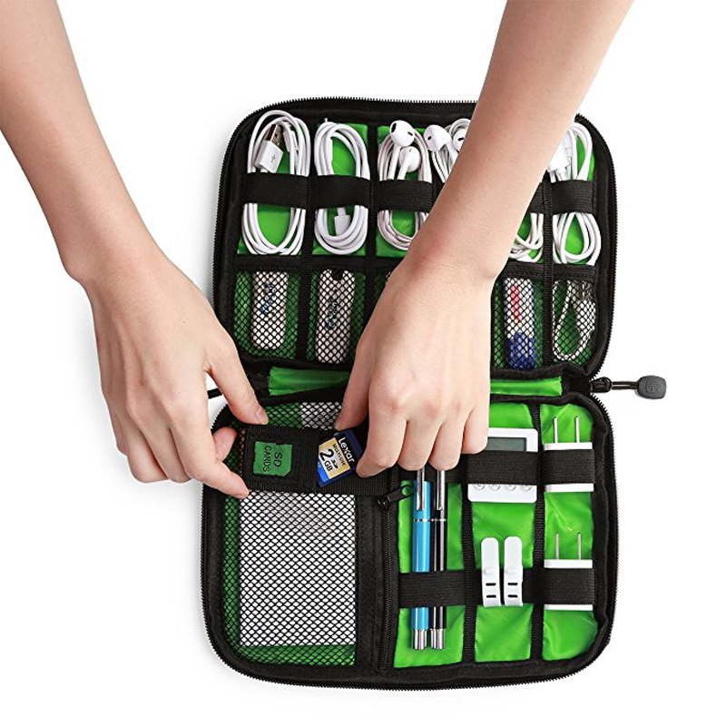 High Quality Digital Bag,Travel Data Lines Bag,Electronics Accessories Travel Organizer Bag Case For Chargers Cables Earphone