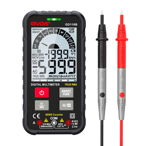 Digital Multimeter Voltage Tester True RMS Capacitor 6000 Counts Transistor Meter AC DC Hz Ohm Tester NCV Universal Multimetro