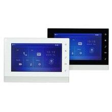 Dh multi idioma VTH1550CHW 2 S1 monitor interno de 2 fios, monitor de campainha ip, monitor de vídeo porteiro, monitor de campainha com fio