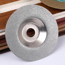 100mm Diamond Grinding Disc Cut Off Discs Wheel Glass Cuttering Saw Blades Rotary Abrasive Tools Silver