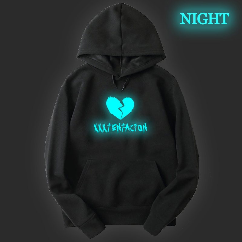 Luminous XXXTentacion Unisex Toddler Kids Baby Boys Girls Print Hooded Tops Hoodie Coat Outerwear Casual Sweatshirts New Arrival