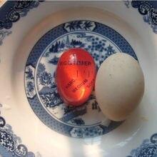 1 pçs ovo quente temporizador suprimentos de cozinha ovo perfeito cor mudando macio duro perfeito cozidos ovos ajudante temporizador cozinhar conjunto