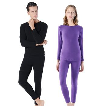 Hot Sale Tracksuit Thermal Underwear Men Women Winter Fast Dry High Elastic Long Underwear Heat Pack Women Warm Two Piece Set