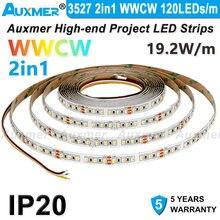 Светодиодная лента 3527 2 в 1 120 светодисветодиодный s/m wwcw