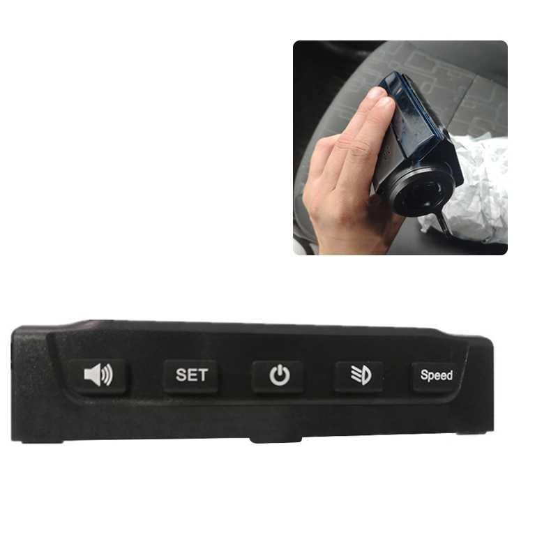 Cubierta de Monitor LCD para Scooter KUGOO S1 S2 S3 de 8 pulgadas con mango de freno acelerador, cubierta de lámpara LED