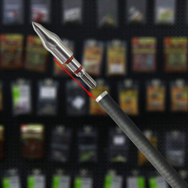 Фото maifield из нержавеющей стали для стрельбы лука очки легко тянутся цена