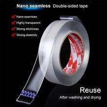 Z02 нано двухсторонняя лента прозрачная сильная Адсорбция без