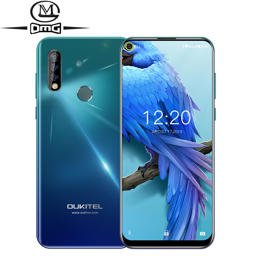 OUKITEL C17 Triple caméra android 9.0 4G smartphone MT6763 Octa Core 3GB RAM 16GB ROM identification de visage d'empreinte digitale 3900mAh téléphone portable