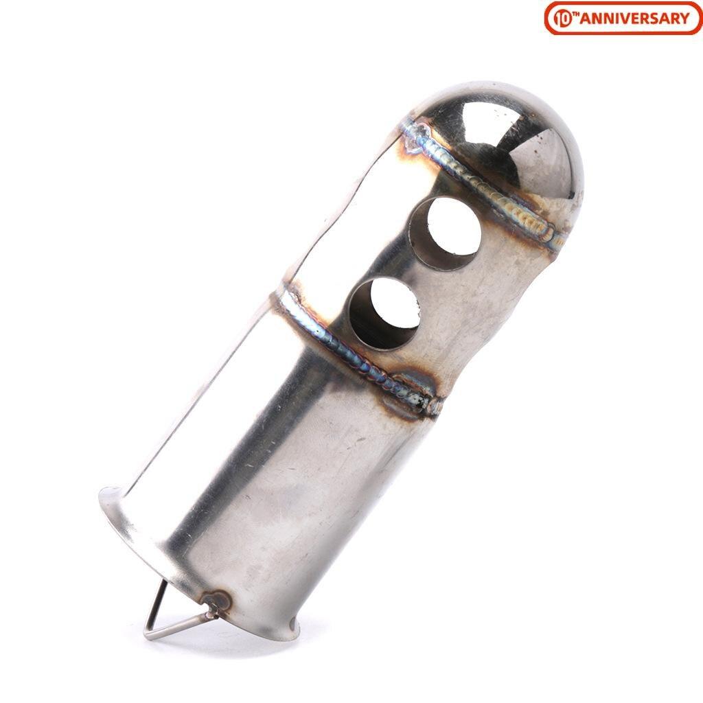 51 мм труба выхлопной трубы мотоцикла дБ убийца глушитель перегородка слияния трубы из нержавеющей стали аксессуары для мотоцикла