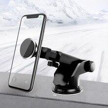 Suporte Porta Celular универсальная Магнитная подставка для мобильного телефона, автомобиля, держатель для смартфона