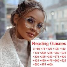 Gafas de cristal redondas transparentes, montura de anteojos Vintage para mujer, filtro de luz azul, gafas correctoras para presbicia de ordenador