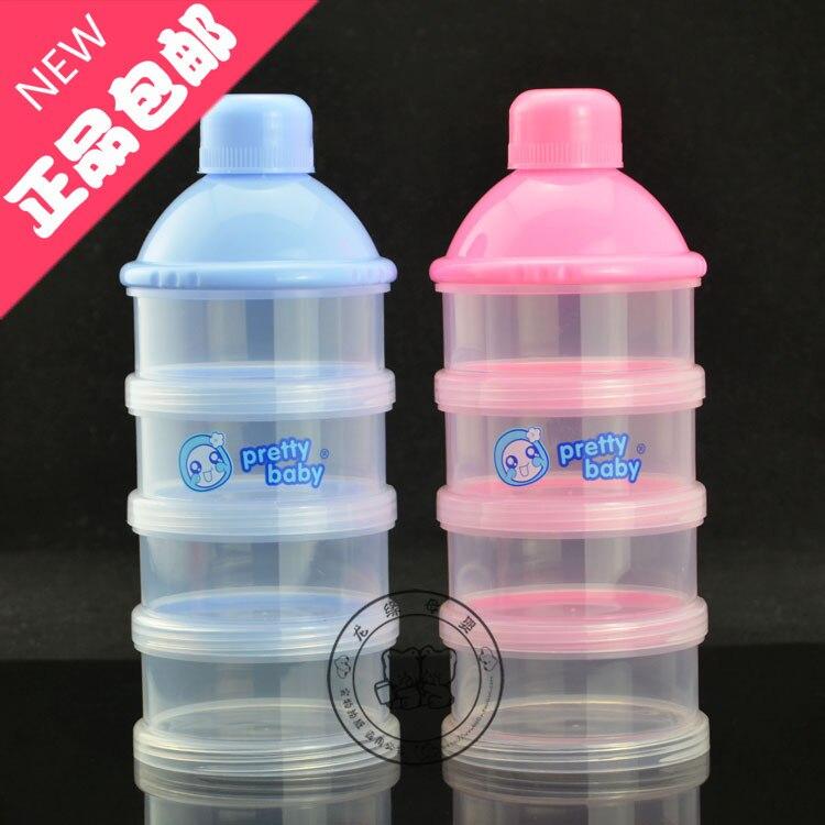 Milk Box Milk Container Portable Nursing Baby Clothes Milk Powder Carrying Case Airtight Milk Powder Storage Box Small Separatel