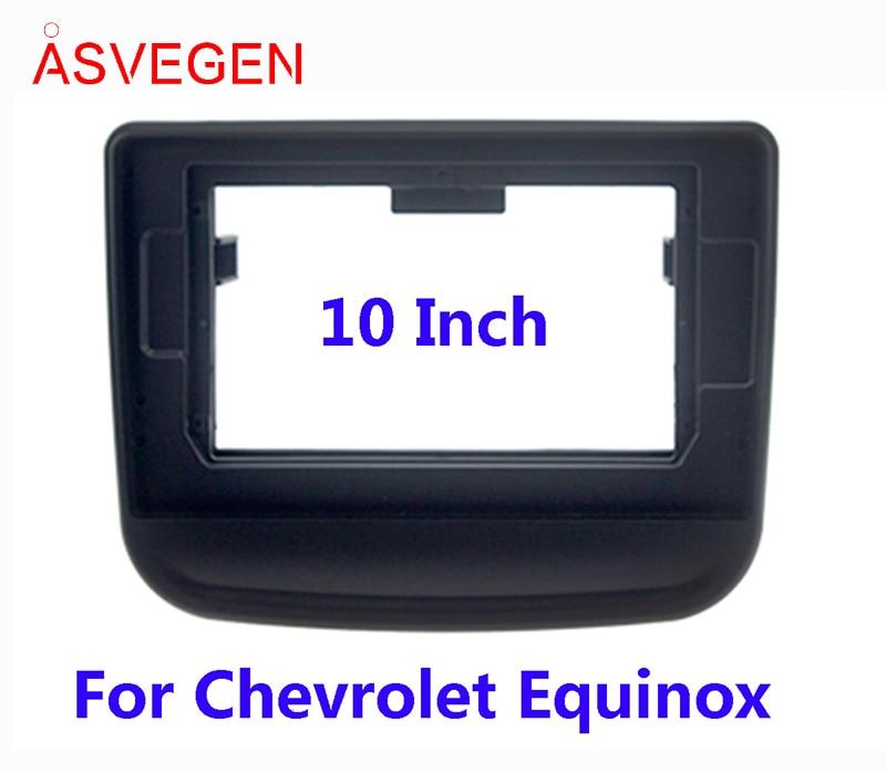 Asvegen Car Radio Fascia Frame For Chevrolet equinox  Car Dvd Frame Install Panel Dash Mount Installation Dashboard