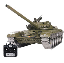 1:16 Russian T-72 Main Battle Tank 2.4G RC Model Military Tank With Sound Smoke Shooting Effect Metal Ultimate Advanced Edition trumpeter 1 35 czech army t 72m4cz main battle tanks model kit