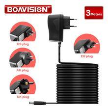 Adaptor Converter Power-Supply Cctv-Camera 12V DC for RXZ12V1A 3-Meters-Length Professional