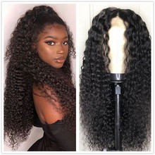 Haever 4x4 Lace Closure Wig Kinky Curly Human Hair Wig Pre-plucked Human Hair Wigs for Black Women  Brazilian Wig 150% Remy Hair