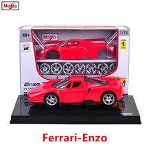 Maisto 1:24 Ferrari FXXK assembled DIY die-casting model car toy new collection boy