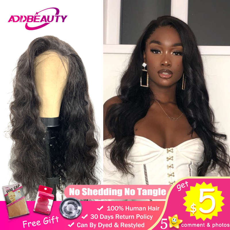 Body Wave Wigs For Black Women DIY Custom Lace Closure Wig 150% Pre Plucked Hairline 100% Peruvian Virgin Human With Baby Hair