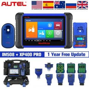 Image 1 - Autel IM508 & XP400 PRO IMMO การเขียนโปรแกรมคีย์เครื่องมือสแกนเนอร์สแกนเนอร์อัตโนมัติไม่มี IP ข้อจำกัด PK IM608