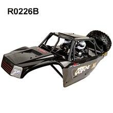 VRX car shell + Nylon Roll cage + Spare wheel + Driver Blist