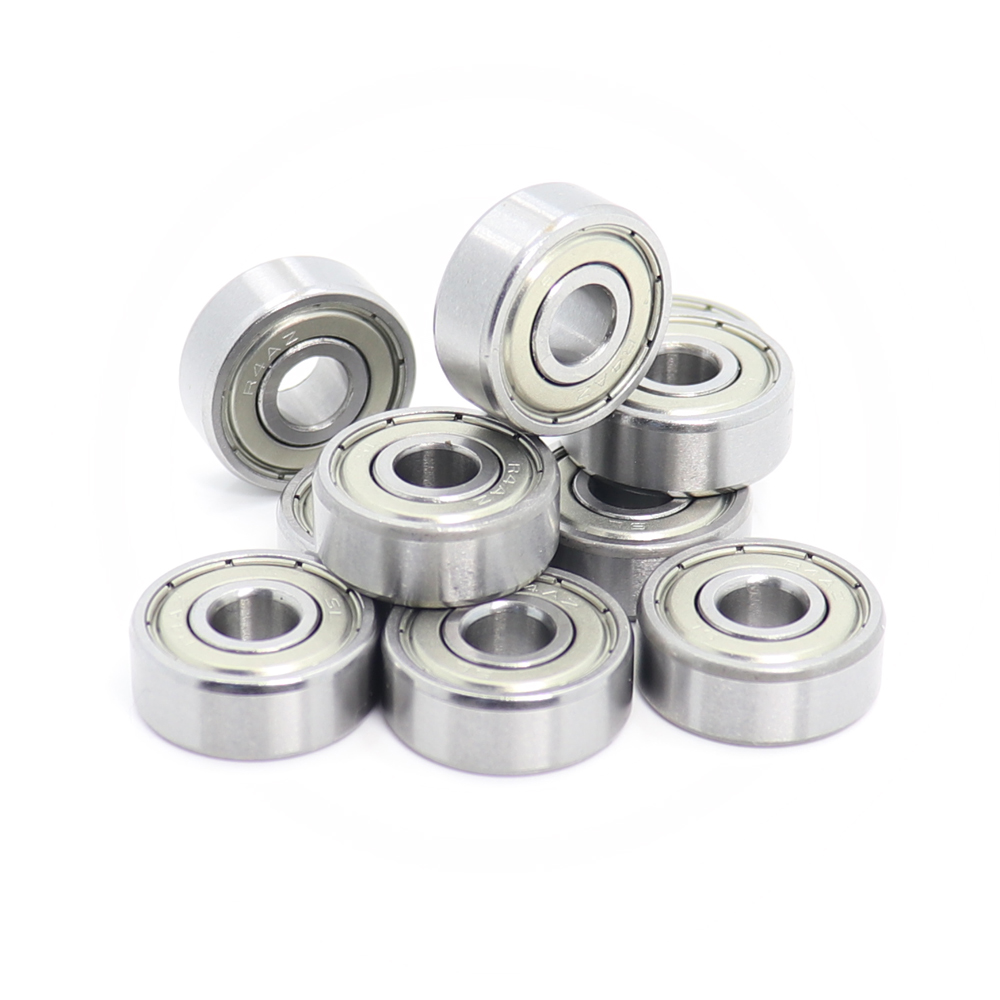 R4zz  R4Azz Bearing R6zz R8zz ABEC-1 10PCS Double Shielded Inch Miniature Ball Bearings R4z R4Az R6z R8z