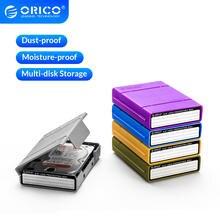 Orico hdd защитная коробка 35 дюйма внешняя для хранения ssd