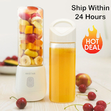 450ml USB Portable Rechargeable Blender Multi-function Juicer Mini Juice Cup Food Soymilk Fruit Mixer Food Squeezer Kitchen Tool цена и фото
