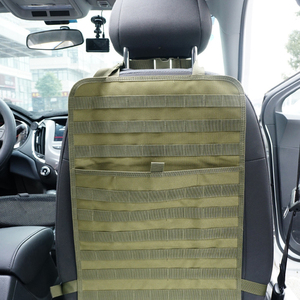 Image 5 - มัลติฟังก์ชั่กลางแจ้งรถที่นั่งอุปกรณ์เก็บผู้ถือยุทธวิธีด้านหลัง Mat Universal Protector แขวน