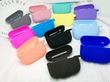 Mini Soft Silicone Case For Apple Airpods Shockproof Cover AirPods Earphone Cases for Air Pods Protector