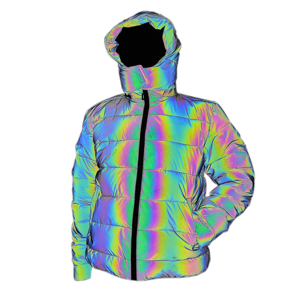 Le donne Rainbow Graffiti Stampa Giacca manica lunga cappotto traspirante per Outdoor