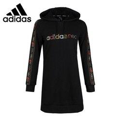 Original New Arrival Adidas NEO W FARM HDY DRSS Women's Dress Sportswear