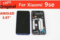 """5.97"""" Super AMOLED For Orginal Mi9se lcd xiaomi MI9se Display Digitizer Assembly Touch Screen mi9SE LCD with frame Mobile Phone Touch Panel     -"""